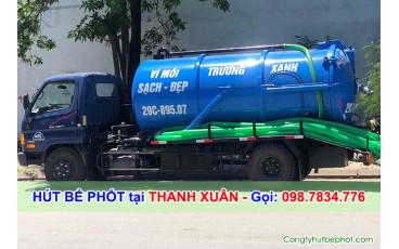 Hút bể phốt Thanh Xuân