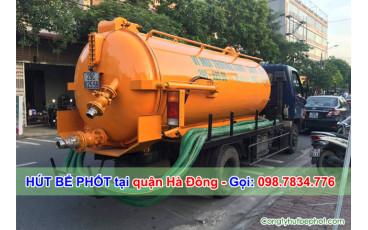 Dịch vụ hút bể phốt tại quận Hà Đông